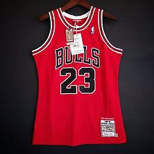 100% Authentic Michael Jordan Mitchell Ness Jersey 40 w/ Python Skin - just don