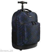 J World Sundown CROSS School Campus Rolling Backpack Travel Carry-On Bag  JWorld 20c5062dc1