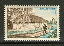 TIMBRES 1439 NEUF XX - PAYSAGE VENDEEN - HOMME SUR SA BARQUE