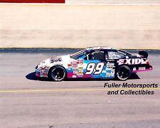 JEFF BURTON #99 2000 EXIDE FORD TAURUS AT BRISTOL NASCAR WINSTON CUP 8X10 PHOTO