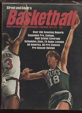 1972/73 Street & Smith Basketball Yearbook Cowens EX