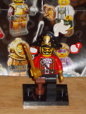 LEGO 8833 Minifigure Series 8 PIRATE Captain COMPLETE w/ Hat & Sword OOP