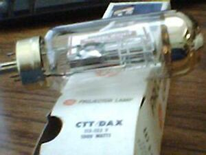 CTT/DAX  GENERAL ELECTRIC PROJECTOR LAMP