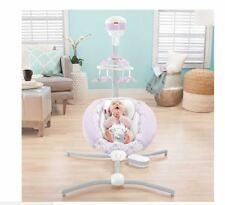 Fisher-Price® Baby Fairytale Deluxe Cradle 'n Swing, Infant Swing, Infant Cradle