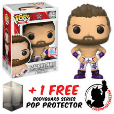 FUNKO POP WWE ZACK RYDER NYCC 2017 EXCLUSIVE + FREE POP PROTECTOR