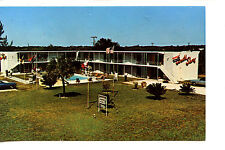 South Shore Motel-Pool-Grounds-Vero Beach-Florida-Vintage Advertising Postcard