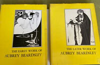 1967 The Early & Later Works Of Aubrey Beardsley 2 Book Set