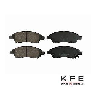 For 2012-2017 Nissan Versa + Note FRONT Premium Ceramic Disc Brake Pad KFE1592