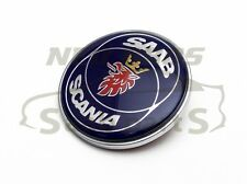 'Scania' Bonnet Badge Emblem for Saab 900 NG900 9000 9-3, 4522884