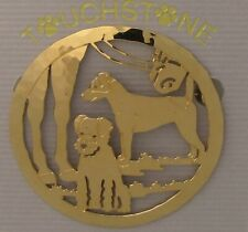 Parson Russell Terrier Jewelry Locking Back Pin by Touchstone Dog Designs