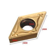 7x7mm Hartmetalleinsatz DCMT070204 YBC251 Für Drehmaschine  Drehstähle