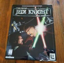 Star Wars: Jedi Knight -- Dark Forces II (PC, 1997) Big Box