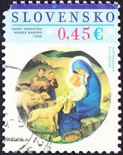 Slovakia - 2015 - 0,45 Euros Madonna & Child Manger & Lambs Commemorative Issue
