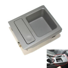 Top Front Drink Cup Holder Center Console Storing Coin BOX Fit For BMW E46 99-06