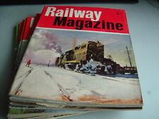 THE RAILWAY MAGAZINE 1966  FULL YEAR VINTAGE STEAM TRAINS