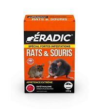 RATICIDE SOURICIDE SPECIAL FORTES INFESTATIONS RATS SOURIS GRAIN Au DIFETHIALONE