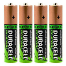 4x Duracell AA HR06 2450mAh Capacity Duralock NiMH AA Rechargeable Batteries
