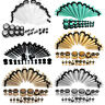 36Pcs Gauges Kit Tapers and Plugs Steel/Acrylic Tunnels 14G-00G Ear Stretching