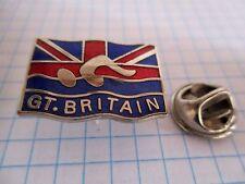 PINS RARE GT.BRITAIN FLAG DRAPEAU GRANDE BRETAGNE ENGLAND ANGLETERRE m1