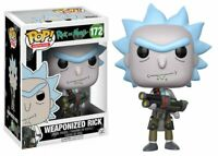 Funko Pop Animation Rick And Morty Weaponized Rick Vinyl Action Figure