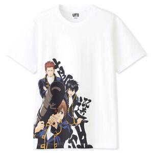 UNIQLO UT L(JPN) Gintama T-shirt Shinsengumi White New from Japan