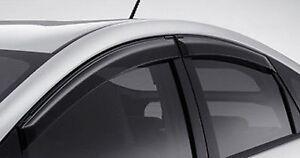 Toyota genuine Prius PLUG IN HYBRID window siderain guard visor zvw30 F/S JAPAN