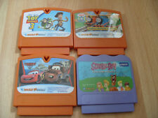 4 X Paquete De Juegos Vtech V Smile JOBLOT Cars 2 Scooby Doo Toy Story 3 Thomas -025