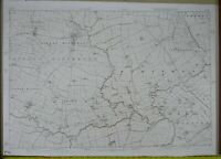 Large 1873 OS 6 inches to a mile Map of Yorkshire - Kirkby Misperton Y107