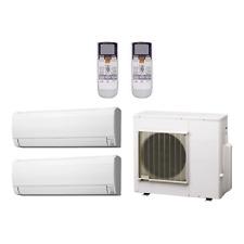 24,000 btu 18 seer fujitsu multi zone mini split heat pump system 9k-15k