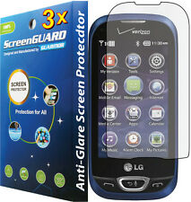 3x Anti-Glare Matte Screen Protector LG Extravert II 2 VN280 Freedom II 2 UN280