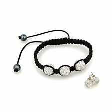 Modeschmuck-Armbänder aus Sterlingsilber mit Kristall für Damen