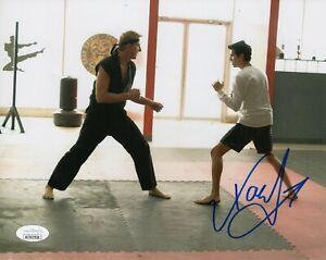 "Xolo Mariduena Autograph Signed 8x10 Photo - Cobra Kai ""Miguel"" (JSA COA)"