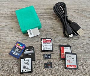 SD-Card ToolBox // CID/CSD // Password and Write protection // SD, SDHC, SDXC