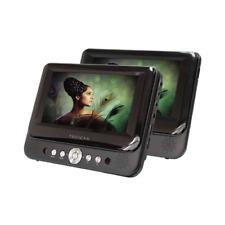"Proscan PDVD8737 7"" Dual Screen Portable DVD Player Audio/Video for Car"