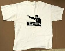 The 4-Squares 'Kung-Fu' Vintage Chicago Punk T-Shirt Xl, 1994 Quincy Shanks
