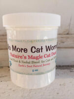 Cat Dewormer Natural and Safe for Kittens and Cats - 6 Treatments Free Ship