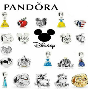 2021 New Pandora Disney Authentic Sterling Silver ALE S925 Pure Charm + Gift Bag