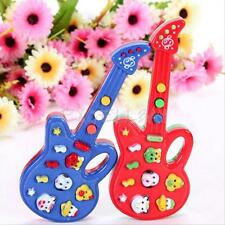 Baby Kids Electronic Guitar Educational Rhyme Developmental Music Sound Toy Gift