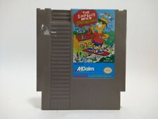 Nintendo NES The Simpsons: Bart vs. The Space Mutants Authentic Cleaned Tested