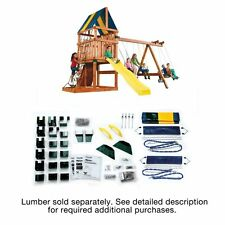 Swing N Slide Alpine Custom Ready-To-Build Swing Set Hardware Kit