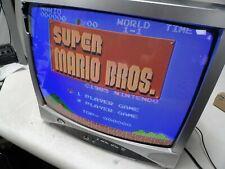 "Durabrand Dwt1905 19"" Color Retro Gaming Crt Tv Television"