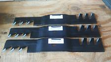 "JOHN DEERE SET  M113517 ( 3 ) GATOR STYLE  MOWER BLADE (15-6420)  48"" Cut"