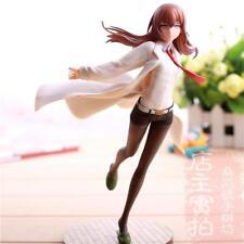 Collection Steins;Gate Makise Kurisu PVC Action Figure Toy Doll Model white