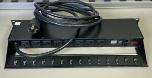 APC AP7901 POWER DISTRIBUTION UNIT PDU POWER STRIP 20A 120V 8-OUTLETS