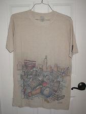 Bombay Sapphire Marc Ecko's Complex T shirt XL tan