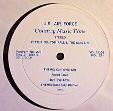 Radio Show:USAF COUNTRY MUSIC TIME 225 STAN HITCHCOCK & 226 TOM PALL/THE GLAZERS