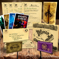 Harry Potter Hogwarts Acceptance Letter Xmas Gift Set Present Christmas Xmas P&P