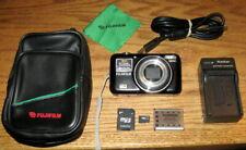 Fujifilm FinePix JZ300 12 MP 10x Wide Optical Zoom UVGC Black Guarantee Bundled