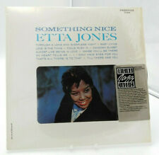 ETTA JONES-something nice-JAZZ SWING-vinyl lp album-1986-original jazz classics