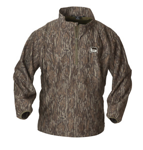 Banded Gear 1/4 Zip Pullover Jacket Windproof Coat Bottomland Camo H2O Resistant